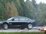 BMW High Security 7-Series being put through its paces