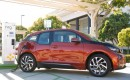 BMW i3 at DC fast-charging station