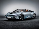 BMW's Electric Range Grows With 2015 BMW i8 Concept Spyder