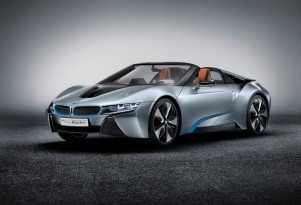 Long-delayed BMW i8 Spyder plug-in hybrid due in 2018