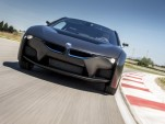 BMW's Ominous Black i8 Fuel-Cell Prototype: What It Sounds Like (Video)