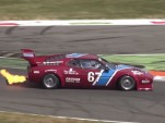 BMW M1 Procar spits flames at Spa