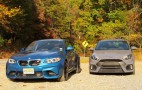 BMW M2 vs. Ford Focus RS: Have turbos, will travel