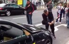 Angry BMW M6 Owner Smashes Car With Axe At Frankfurt Auto Show: Video