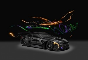 BMW M6 GT3 Art Car #18