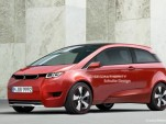 BMW Megacity Vehicle two-door rendering