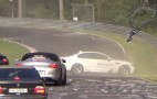 BMW M5 'Ring Taxi Demonstrates Aggressive Oversteer, Armco Resistance: Video