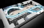 BMW Building Track For Frankfurt Auto Show Stand