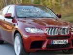 BMW X6 M preview rendering