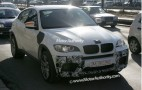 Spy shots: BMW X6 M SUV spotted in white
