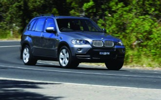 BMW Recalls 2007-2010 X5 SUVs To Fix Brakes