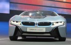 BMW i3 Electric Car And i8 Plug-In Hybrid Live Photos