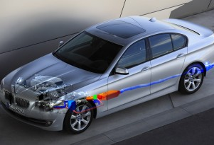 BMW EfficientDynamics heat energy recovery technology