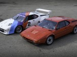 1981 BMW M1 IMSA Group 4 with its road version.
