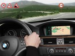 BMW's intelligent learning sat nav system
