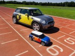 Electric Mini MINIs Help Out At London Olympic Games