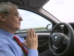 BMW's self driving car, at speed.