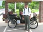 Bob Ferry's 1906 Oldsmobile replica. Photo: Inside Google Books