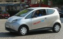 Bollor BlueCar electric car used for Autolib' car-sharing service in Paris, September 2012