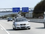 Bosch automated driving system on Autobahn A81