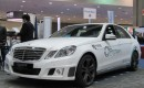 Brabus Hybrid Mercedes-Benz with Protean Electric wheel motors, EVS-26, Los Angeles, May 2012