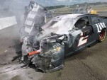 Brad Keselowski crashes at 165mph