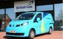 British Gas Nissan eNV200 electric van