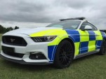 British police test the 2016 Ford Mustang GT