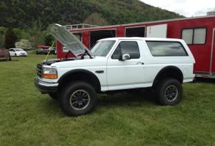 Bronco on Raptor Chassis