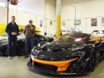 Bruce Canepa and his McLaren P1 GTR
