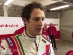 Bruno Senna racing for Mahindra in Formula E