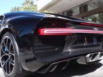 Bugatti Chiron cold start video