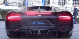Bugatti Chiron engine rev video