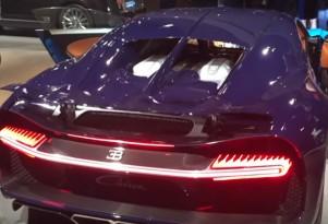 Bugatti Chiron engine video