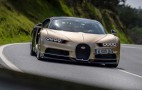 Bugatti Chiron can't go over 300 MPH because no tire can handle it