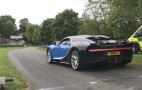 Bugatti Chiron hill climb run is alive with the sound of turbo spools
