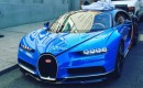 Bugatti Chiron in New York City - Image via Bugatti Chiron fan Facebook page