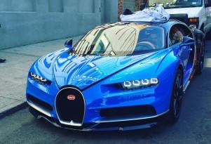 Bugatti Chiron in New York City - Image via Bugatti Chiron fan Facebook page