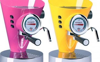 Bugatti Coffee Maker Also Offers Jolt, Sticker-Shock