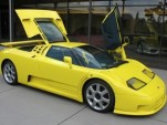 Bugatti EB110 Super Sport once owned by Michael Schumacher
