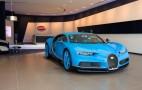 You'll now find Bugatti's biggest showroom in Dubai