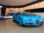 Bugatti showroom in Dubai