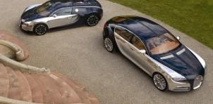 Bugatti Veyron and Galibier 16C concept