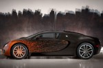 One-off Bugatti Veyron Grand Sport Venet spotted in the wild