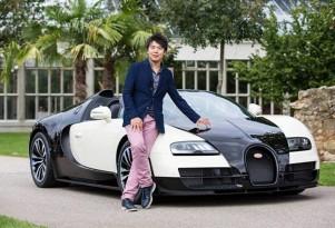 Bugatti Veyron Grand Sport Vitesse celebrates the music of Lang Lang