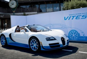 Bugatti Veyron Grand Sport Vitesse special edition at 2012 Pebble Beach Concours dElegance