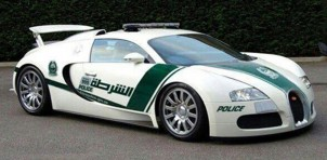 Bugatti Veyron police car - Image: Dubai Police