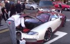 Bugatti Veyron Suffers Breakdown On The Streets Of London: Video