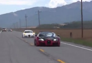Bugatti Veyrons at the 2015 Sun Valley Road Rally