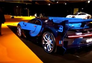 Bugatti Vision Gran Turismo Concept Start Up